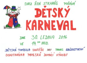 OZNÁMENÍ-26.01.2016_Dětský karneval